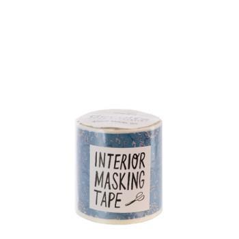 M3610インテリアマスキングテープ 50mm  フラワーブルー