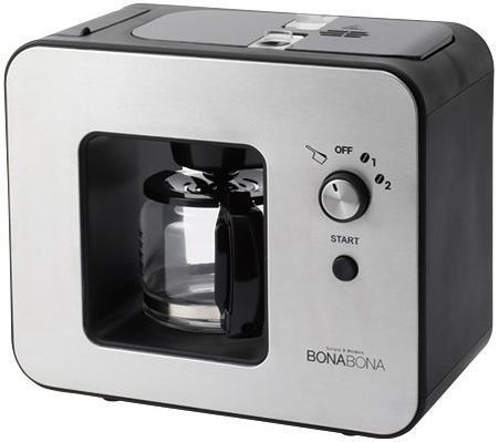 BZ-MC81-BK BONABONA ミル付き全自動コーヒーメーカー 295BK