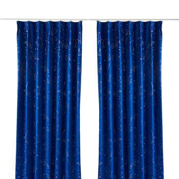 ペガサスカーテン2枚組 100X178cm BL