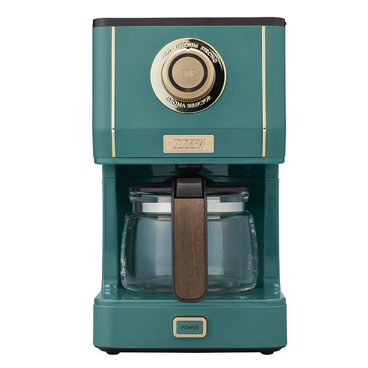 K-CM5-SG  Toffy アロマドリップコーヒーメーカー  SLATEGREEN