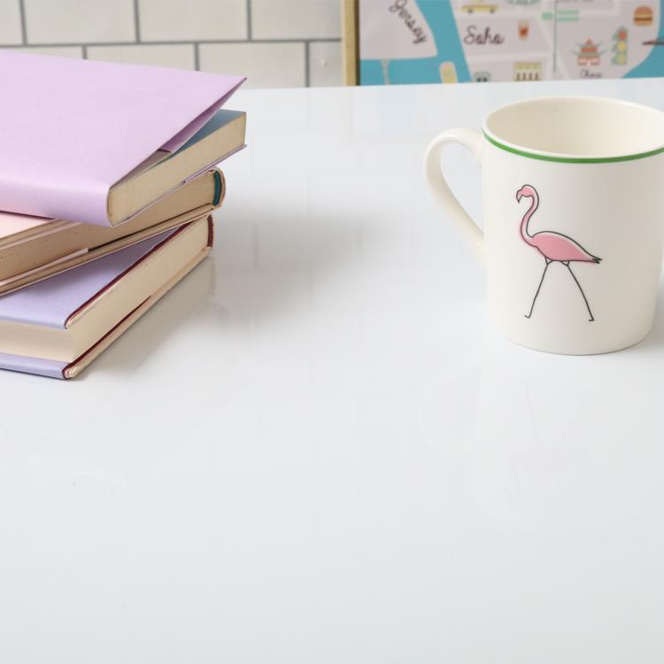 折れ脚テーブル アウル 75×50 WH