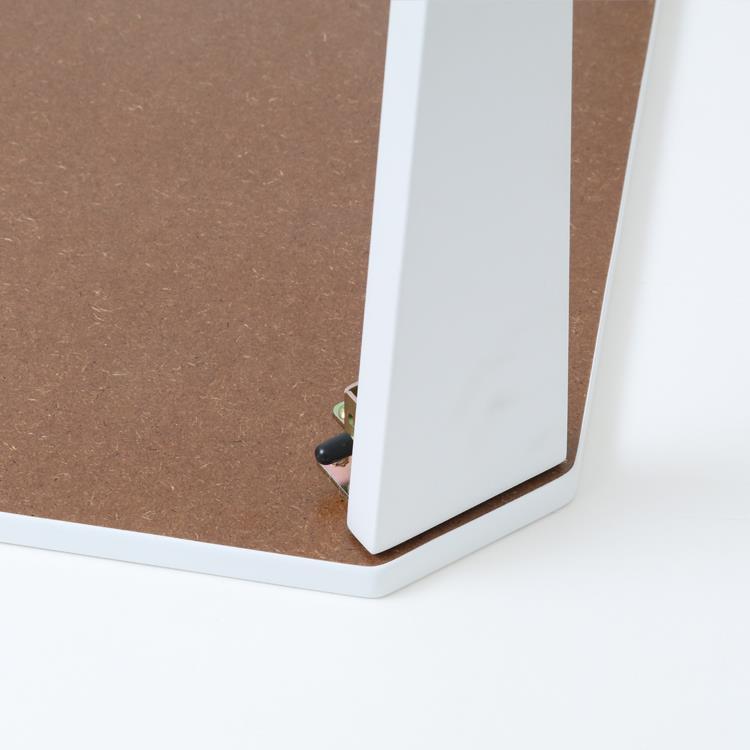 折れ脚テーブル アウル  90×60  WH