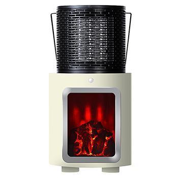 PR-WA010   人感センサー付暖炉ヒーター   WH