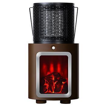 PR-WA010   人感センサー付暖炉ヒーター   BR