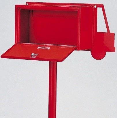 SI-0001-RD-1900 メールボックス カー レッド