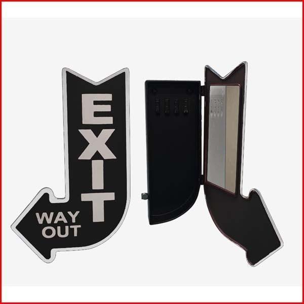 SI-2841-BK  キーボックス EXIT  BK