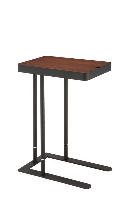 ノエル (ダークブラウン) サイドテーブル「SST-810」