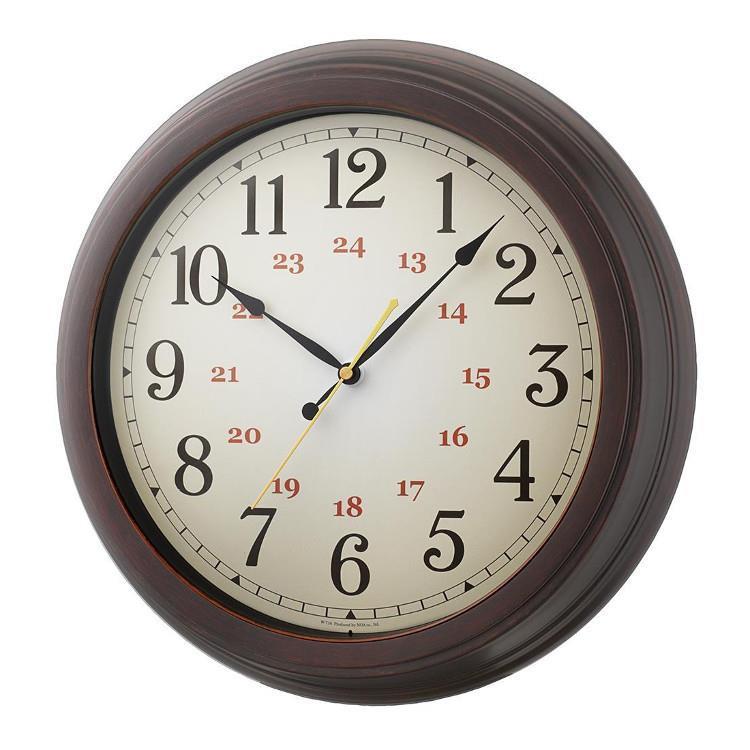 W-716   電波時計 エクストラルクラシック BR