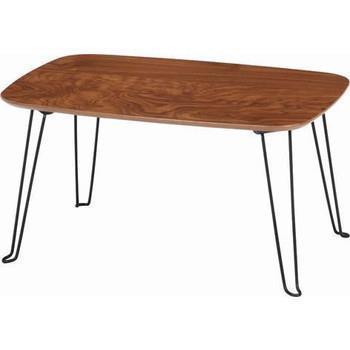 トロン (MBR) 60折れ脚テーブル「HH-6040MBR」