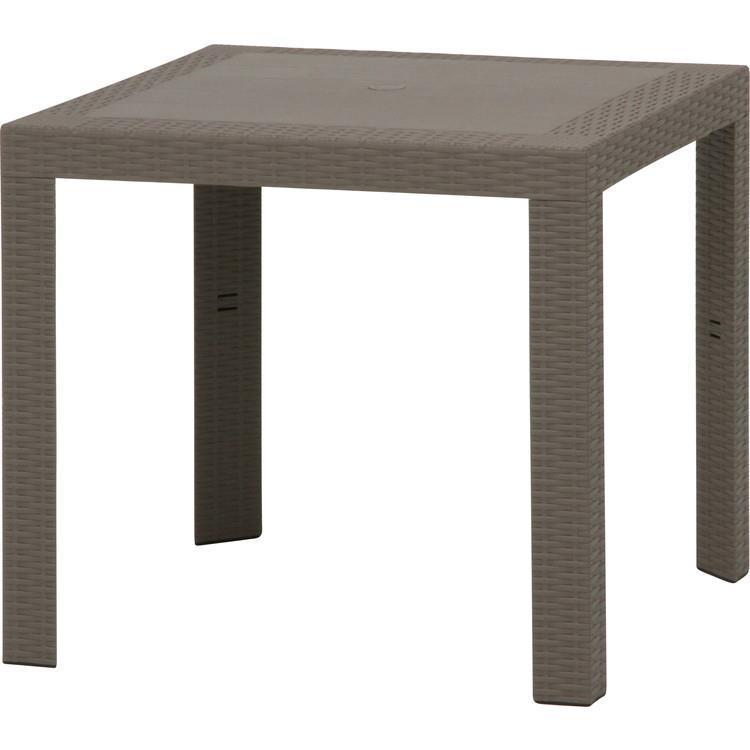 12287  ステラ ガーデンテーブル 80×80 GY