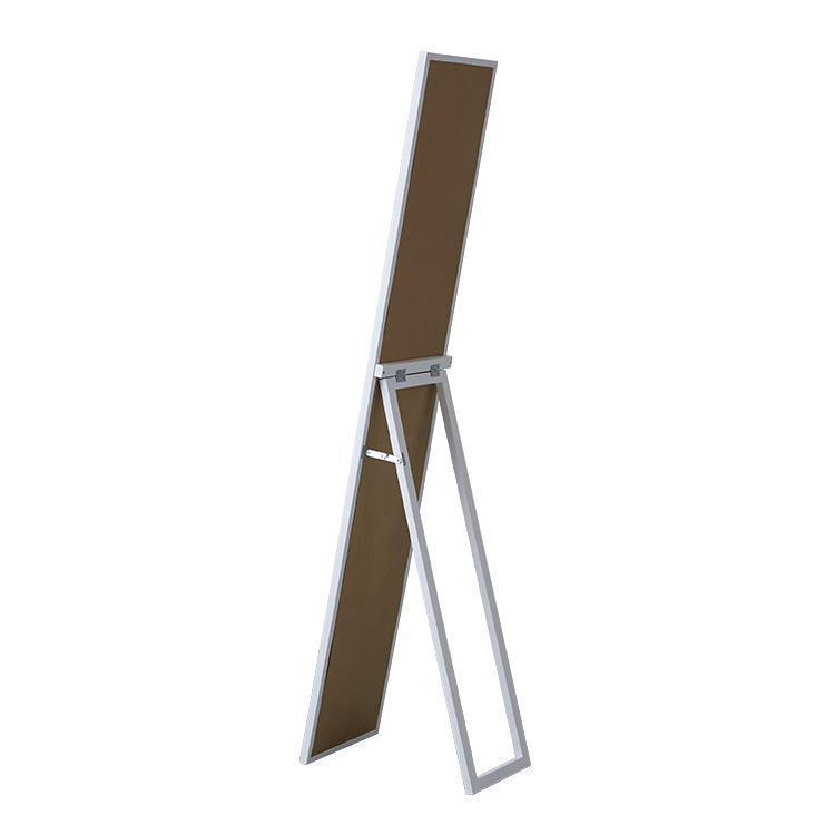 70120 木製スタンドミラー 27cm幅 WH