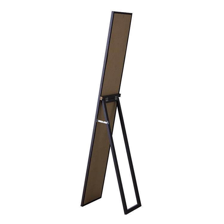 72091 木製スタンドミラー 27cm幅 BR