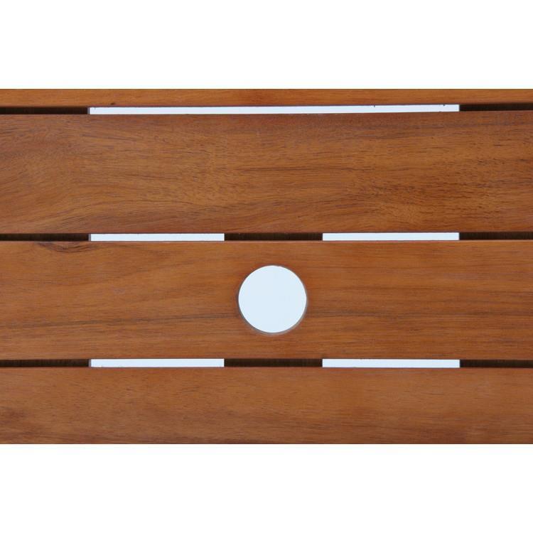 八角  アカシアテーブル 110cm 81062