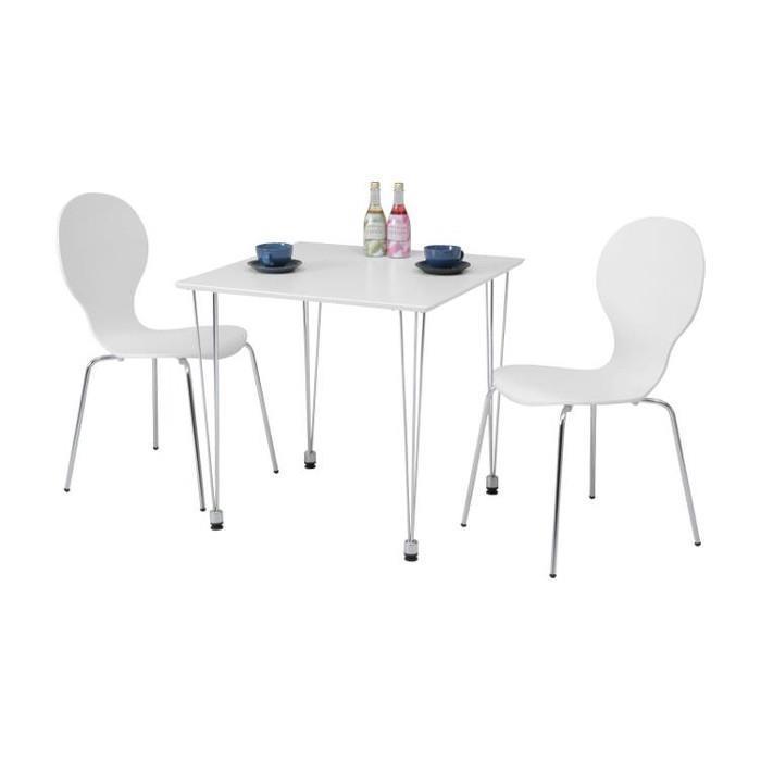 YR-8824「96809」 (WH) 75ダイニングテーブル