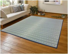 ポルコ い草ラグ  176×176