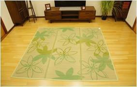 フェアリー い草コンパクトラグ  180×180