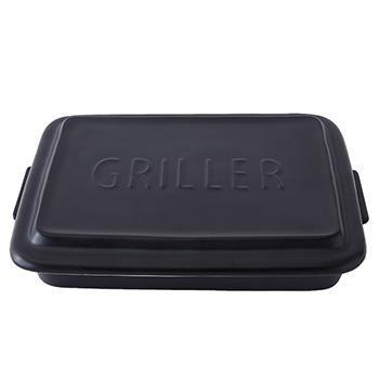 陶器調理皿 グリラー BK