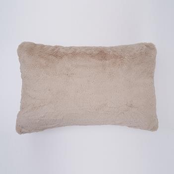 ラビットファー 枕カバー 43cm×63cm BE TH-804