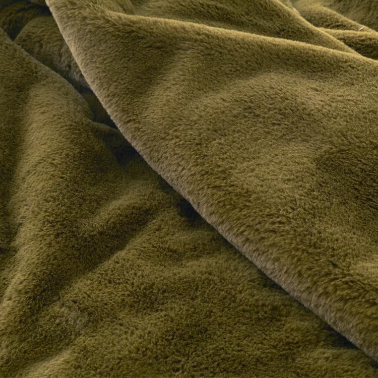 ラビットファー+3℃ 掛布団カバー  シングル  KH