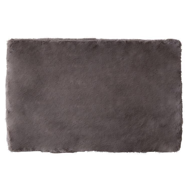 ラビットファー+3℃ TH-904 枕カバー GY 43×63