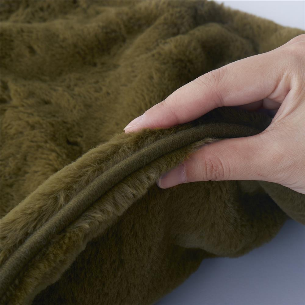 ラビットファー+3℃ TH-904 枕カバー KH 43×63
