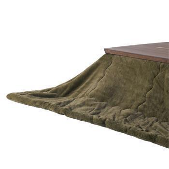 こたつ薄掛布団 ラビットファー+3℃ 長方形 190cm×290cm KH