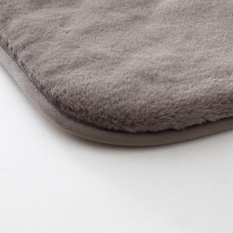 こたつ敷布団 ラビットファー+3℃ 正方形 190cm×190cm GY