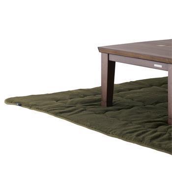 こたつ敷布団 ラビットファー+3℃ 正方形 190cm×190cm KH