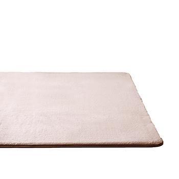 ラビットファー+3℃ ラグ 190×290 BE