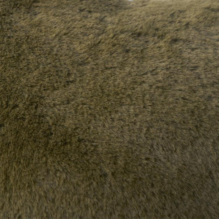 ラビットファー+3℃ TH-922 ハートクッション KH 46×42