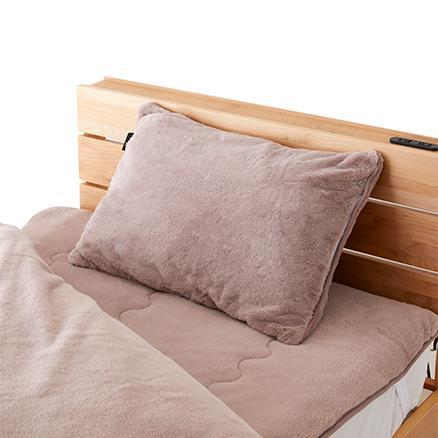 ラビットファー +3.8℃ 枕カバー  PK 43×63 TH-214