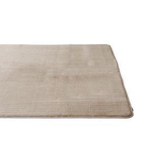 ラビットファー+3.8℃ ラグ BE 130×185 TH-218