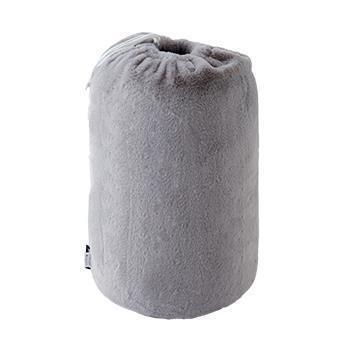 TH-235  ラビットファー+3.8℃寝袋 GY 150×180