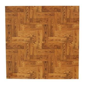 MTFS4602 mtCASA SHEET床 1枚 茶色い木床 460×460mm