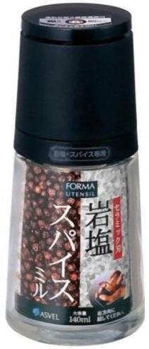 フォルマ セラミックミル(岩塩・スパイス専用) 0 BK