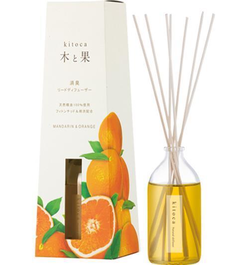 6158  木と果 マンダリン&オレンジ  90ml