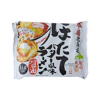 本場北海道 ほたてバター風味醤油ラーメン 110g