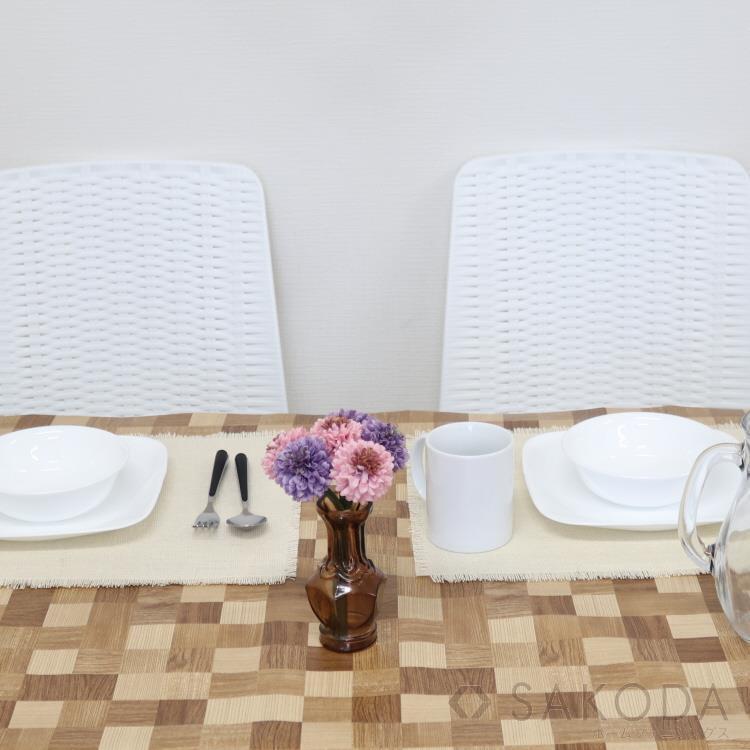貼るテーブルデコ モザイクウッド 90cm×150cm LBR