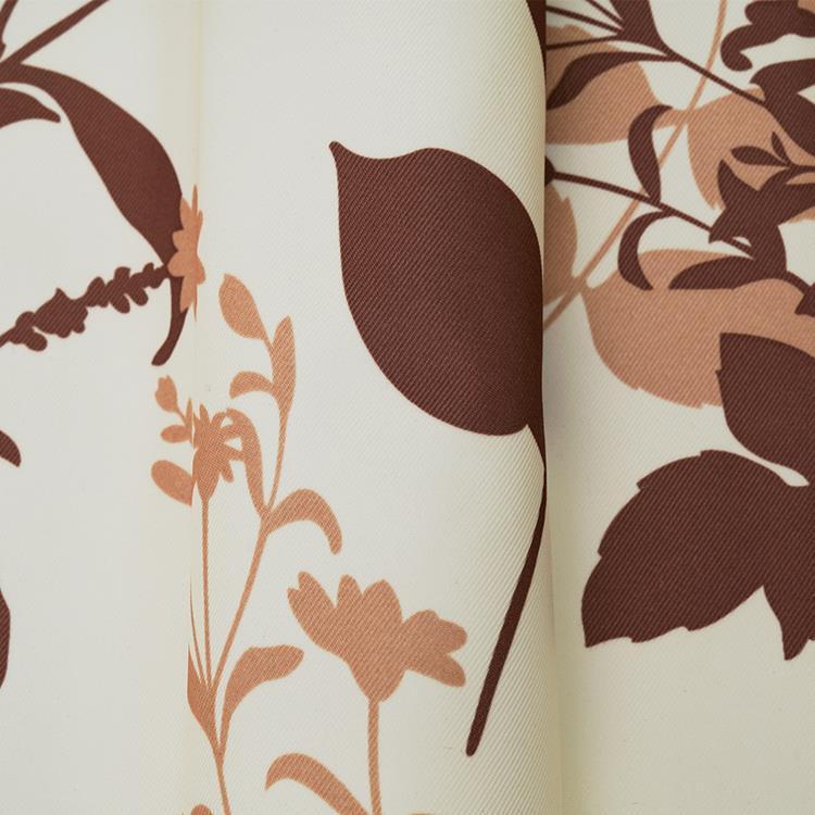 AT HOME リーフトカーテン2枚組 100X225cm GN