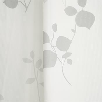トリコットリーフレースカーテン 100X223cm