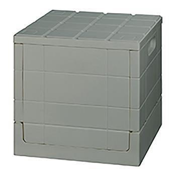 グリットコンテナー キューブ 収納BOX GY