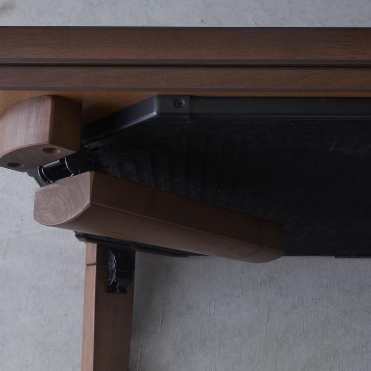 フラットヒーターこたつ SKT-3491FT 長方形 120cm幅 DBR