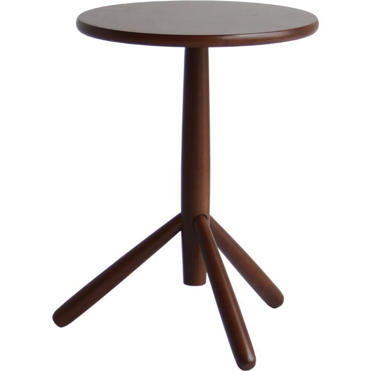キノコ サイドテーブル  BR  ILT-2988BR