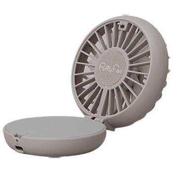 Puffy Fan   グレー