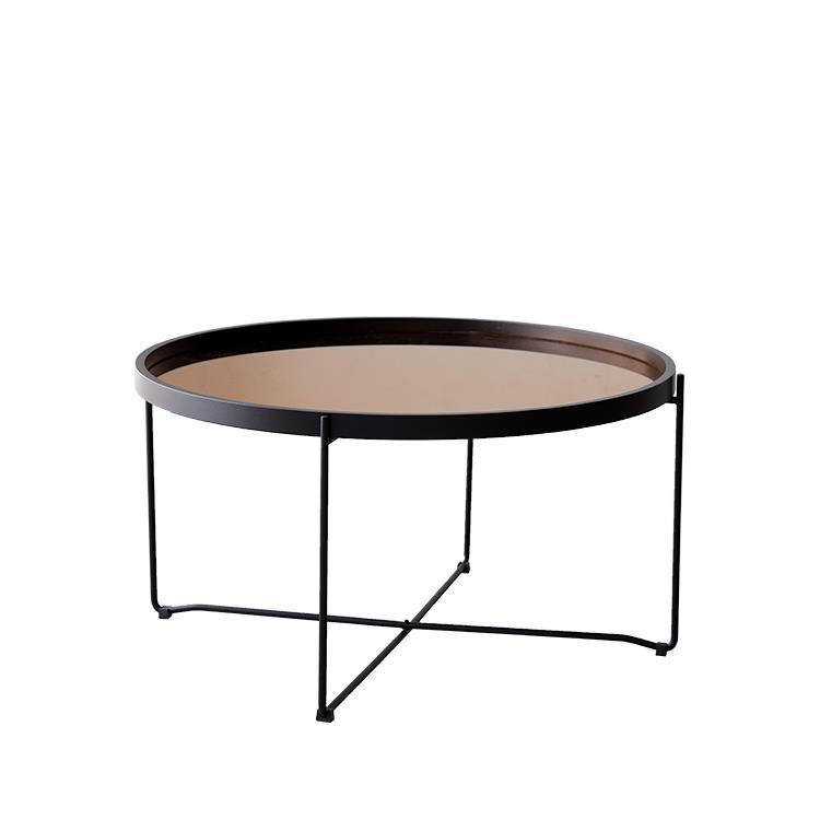 ラウンドトレーテーブル  L