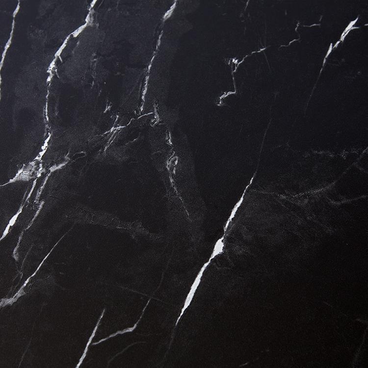 大理石柄デスク オーア BK 120幅棚付き