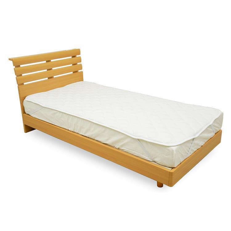 At home ベッドパッド シングル