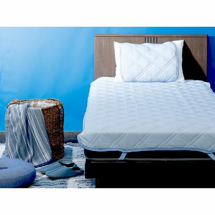凄COOL   リバーシブル枕パッド   43×50