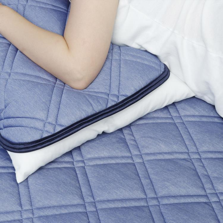 凄COOLリッチ   リバーシブル枕パッド   43×50
