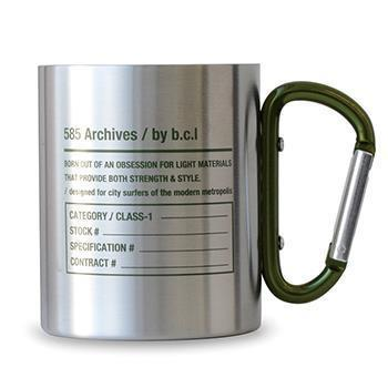 blc ステンレス カラビナマグ 585 オリーブ